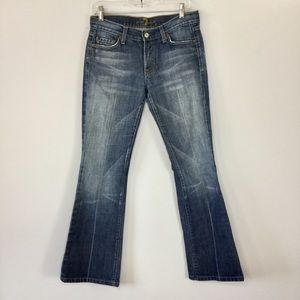 7 for All Mankind Flare Jeans 29.5 inch inseam
